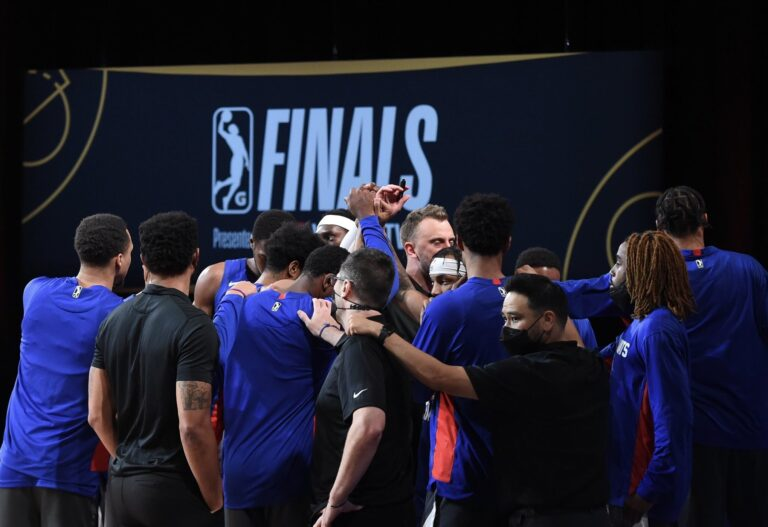 Delaware Blue Coats lost the G-League championship game in Orlando, Florida 97-78 on March 11, 2021. (Blue Coats/Twitter)