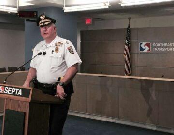 SEPTA Police Chief Thomas Nestel (WHYY file photo)