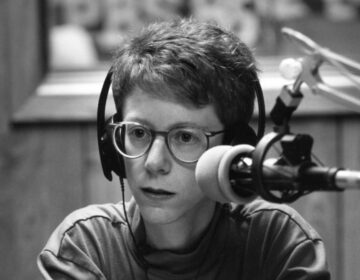 'Fresh Air' host Terry Gross in 1991 (WHYY/Fresh Air Archives)