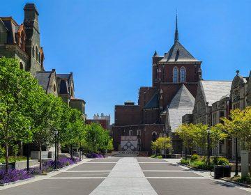 University of Pennsylvania's campus.