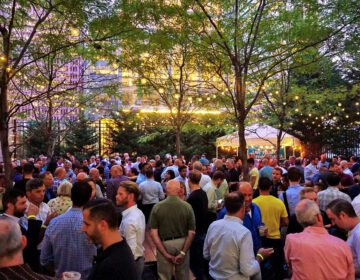 Crowds gather pre-pandemic at Uptown Beer Garden