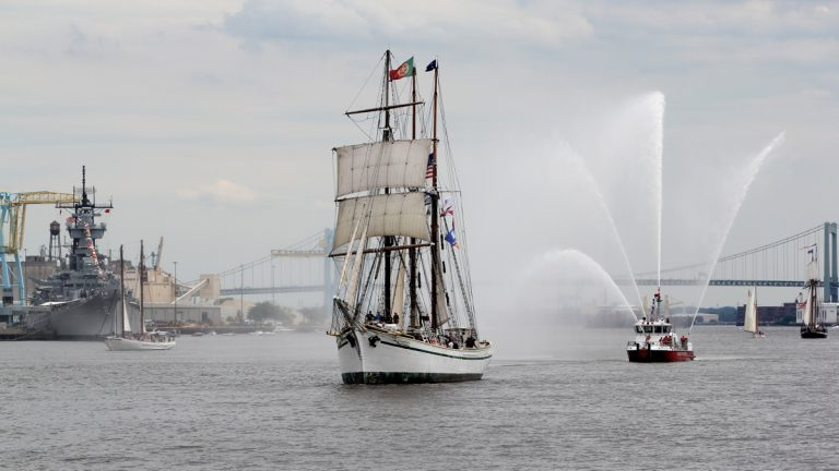 The Gazela is pictured in Philly in June 2015