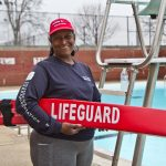 Thelma Nesbitt is a water safety instructor for the City of Philadelphia's Parks and Recreation centers. (Kimberly Paynter/WHYY)
