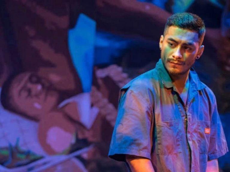Frank Jimenez performs in a scene from