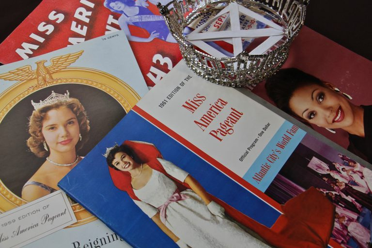 Items from the Miss America Organization archive