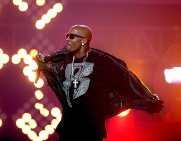 DMX performs during the BET Hip Hop Awards in Atlanta on Oct. 1, 2011. (AP Photo/David Goldman)