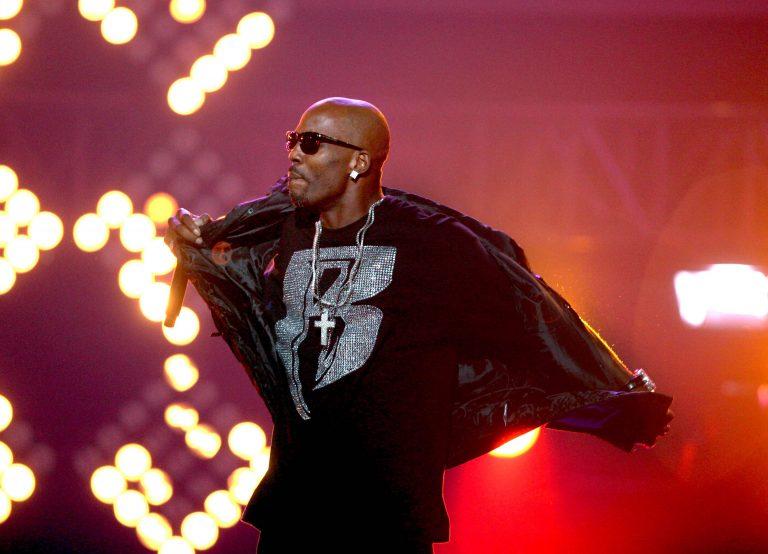 DMX performs during the BET Hip Hop Awards in Atlanta on Oct. 1, 2011. (AP Photo/David Goldman)