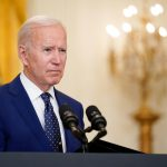 In this April 15, 2021, file photo President Joe Biden speaks about Russia in the East Room of the White House in Washington. In recent days, Biden has piled new sanctions on Russia, announced he would withdraw all U.S. troops from Afghanistan in less than five months and backed away from a campaign promise to sharply raise refugee admission caps. (AP Photo/Andrew Harnik, File)