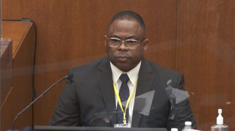 Jody Stiger, a Los Angeles Police Department sergeant testifies