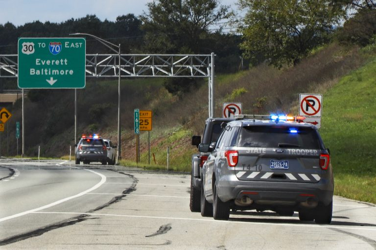 Pennsylvania State troopers pull over drivers
