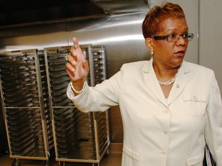 Della Clark, leader of The Enterprise Center