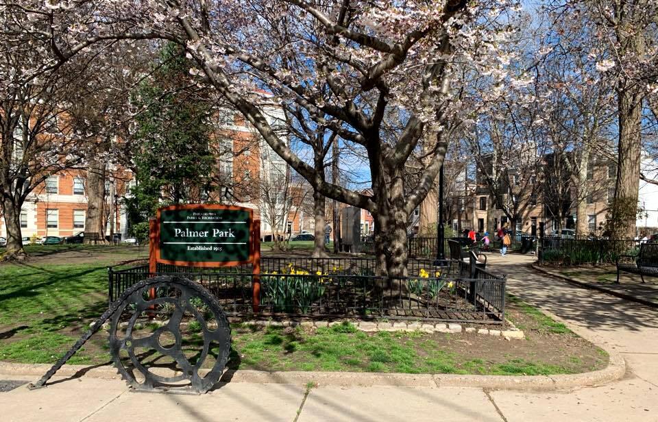 Palmer Park in Fishtown
