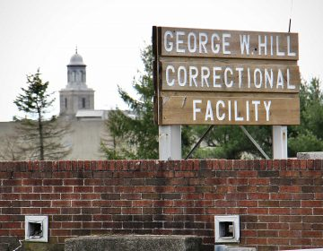George W. Hill Correctional Facility in Delaware County. (Emma Lee/WHYY)