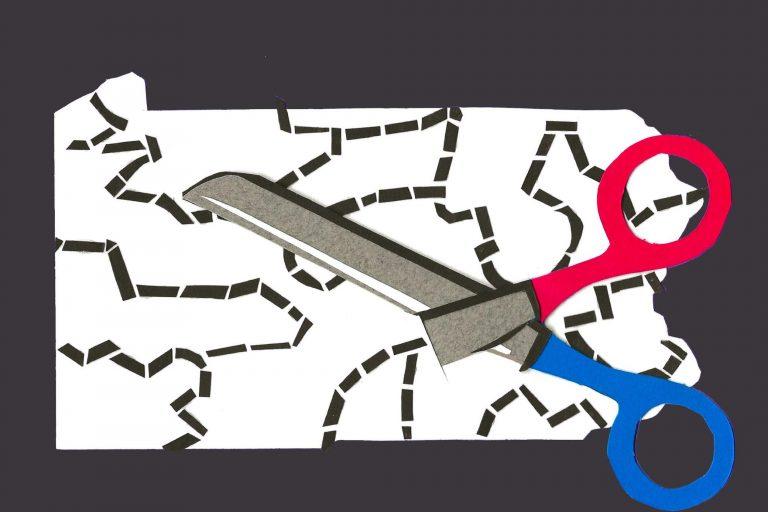An illustration of scissors