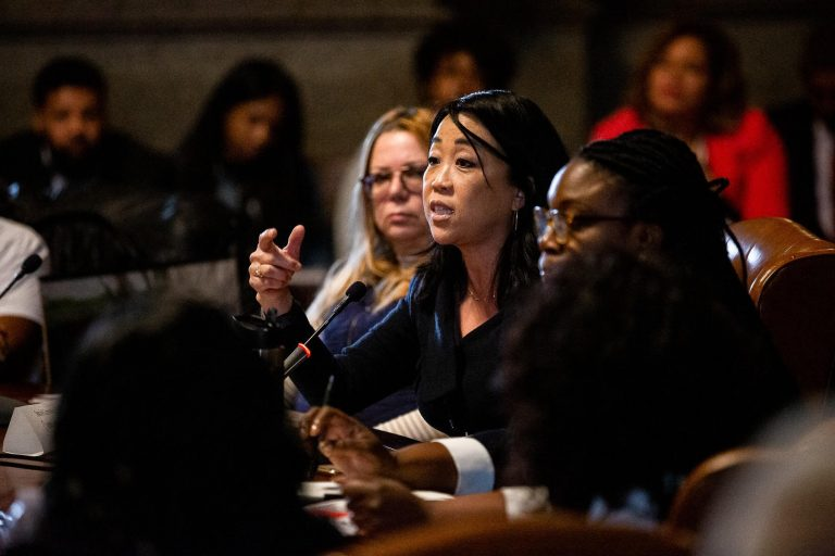 Philadelphia City Councilwoman-at-large Helen Gym worked on the federal civil rights case to stop the harassment of Asian American students following the 2009 assaults at South Philadelphia High School. (Courtesy of Philadelphia City Council)