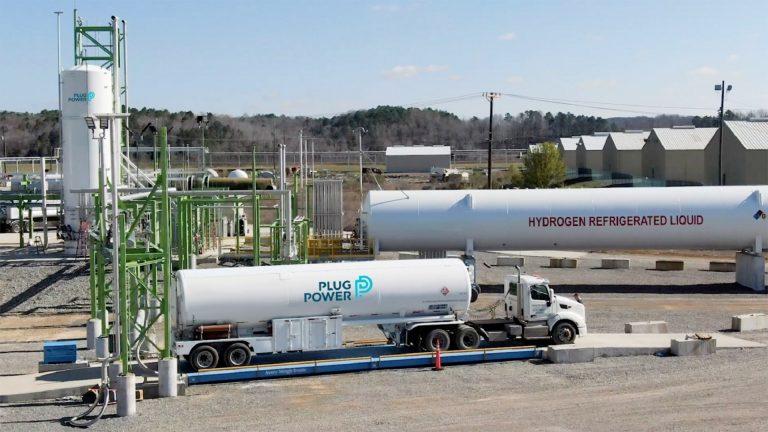 A Plug Power green hydrogen plant. (Courtesy of Plug Power)