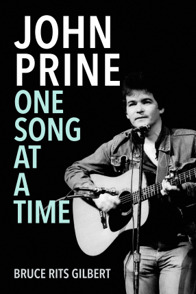 """""""John Prine One Song at a Time"""" book cover"""