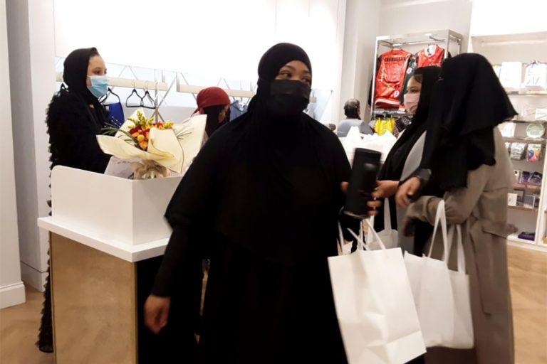 The Ummah Shop at the King Of Prussia Mall (Afea Tucker / The Philadelphia Tribune)