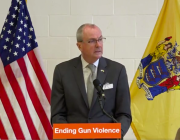 Gov. Murphy announcing his package of gun safety reforms. (Gov. Murphy)