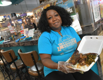 Careda Matthews is the owner of Careda's Caribbean Cuisine located at the Reading Terminal Market. (Abdul R. Sulayman / The Philadelphia Tribune)
