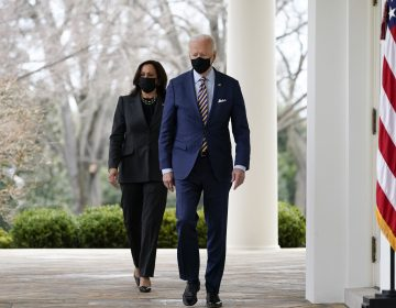 President Biden and Vice President Harris plan to speak to the nation following Tuesday's guilty verdict in the trial of former Minneapolis police officer Derek Chauvin for George Floyd's death. (Alex Brandon/AP Photo)