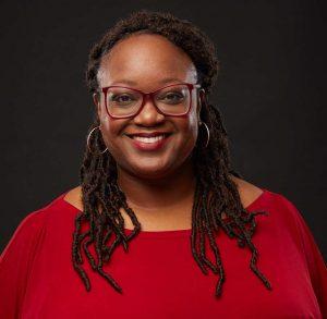 A headshot of psychologist Ariane Thomas