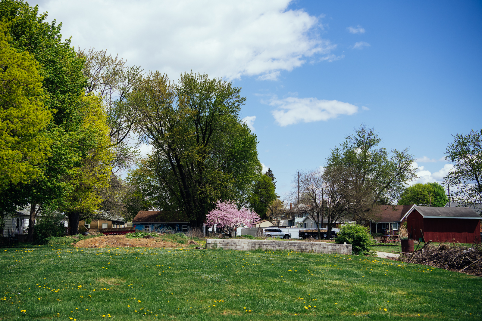 A garden in Chambersburg