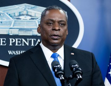 A special review panel says independent judge advocates, not commanding officers, should decide whether to pursue legal charges in sexual assault cases in what would be a break with longstanding policy. Defense Secretary Lloyd Austin is now reviewing the findings. (Saul Loeb/AFP via Getty Images)