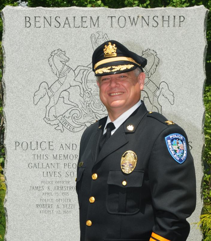 Fred Harran, Bensalem public safety director (Courtesy of Bensalem Police Department)