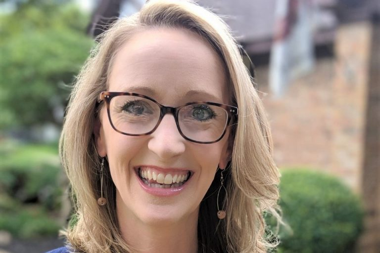 Emily Smith, an epidemiologist married to a preacher, has been able to reach evangelicals in a way others can't, by meeting them where they are. (Courtesy of Emily Smith)
