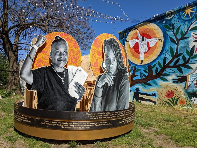 An exhibition at the Village of Arts and Humanities in North Philadelphia
