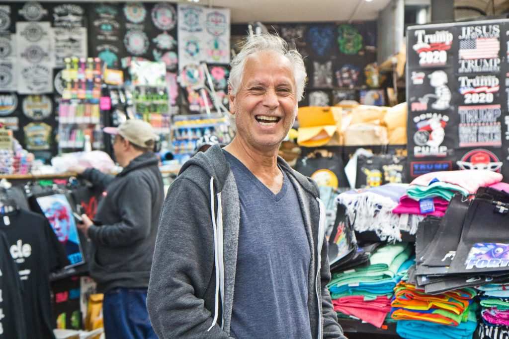 Joseph Sakkal has owned Bobby's Place on the Wildwood boardwalk for 30 years. (Kimberly Paynter/WHYY)