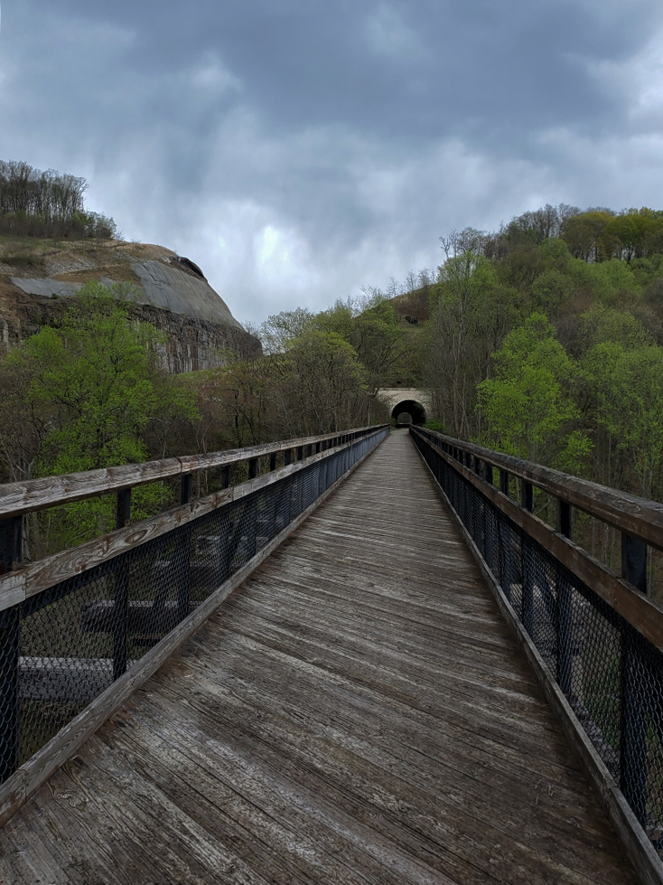 The GAP Trail and Pinkerton Tunnel