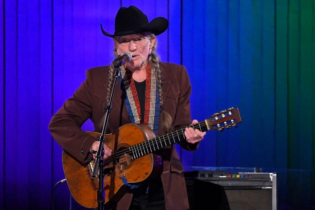 In this Nov. 13, 2019, file photo, Willie Nelson performs in Nashville, Tenn. (AP Photo/Mark J. Terrill)