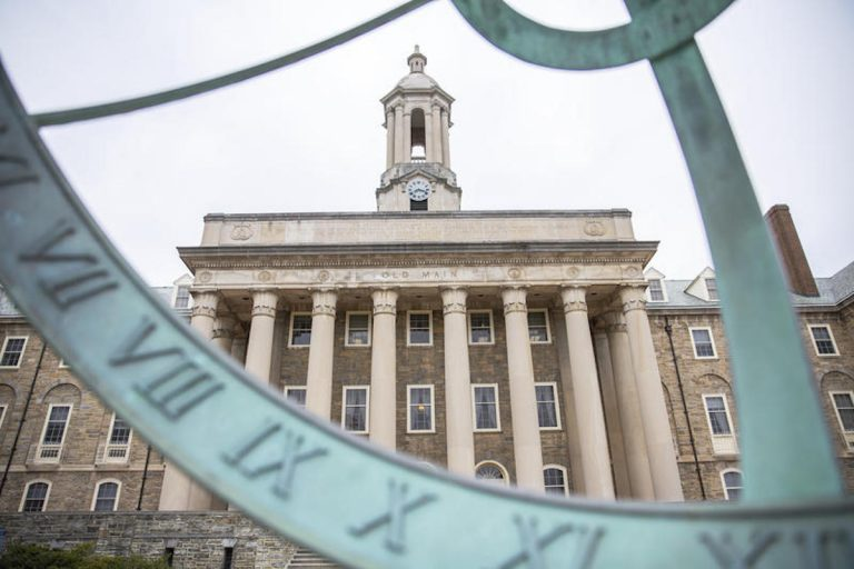 Penn State faculty members are calling for more input from professors, students and staff in picking the next president of the university to replace Eric Barron, who is retiring in 2022. (Min Xian / WPSU)