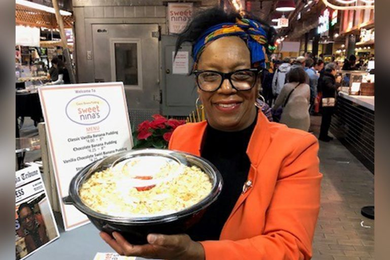 Nina Bryan of Sweet Nina's is one of the bakers taking part in 'Blooming Desserts' at the Philadelphia Flower Show. Her banana pudding was named 'Best of Philly' two years in a row. (Provided)