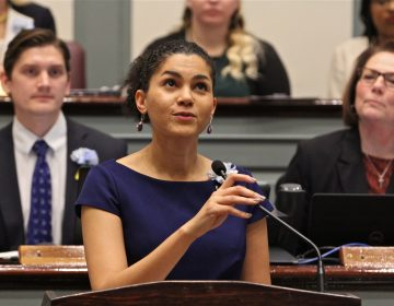 Delaware state Sen. Tizzy Lockman is one of the lead sponsors of the Black history education bill. (Emma Lee/WHYY)