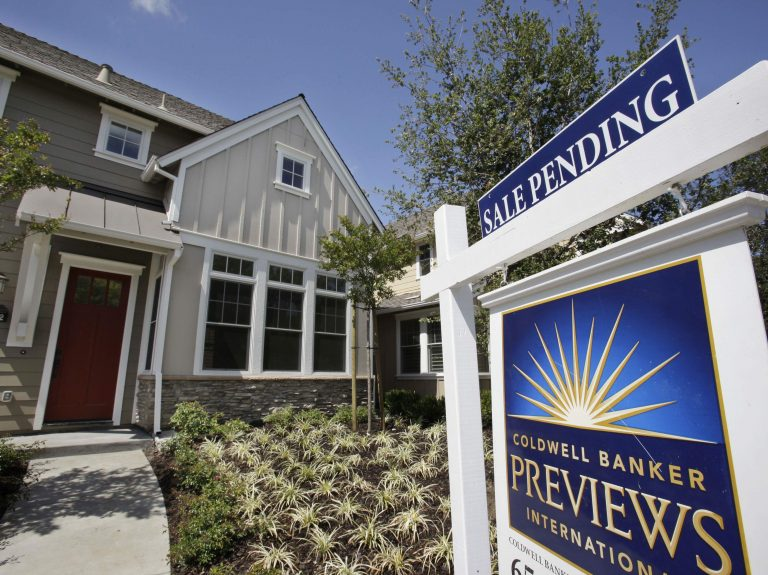 A record shortage of homes for sale and strong demand from buyers are sparking bidding wars and sending home prices to new records. (Paul Sakuma/AP Photo)
