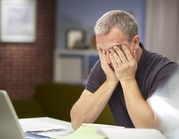 The highest health burdens from overwork were seen in men and in workers who are middle-aged or older, according to a WHO study. (sturti/Getty Images)