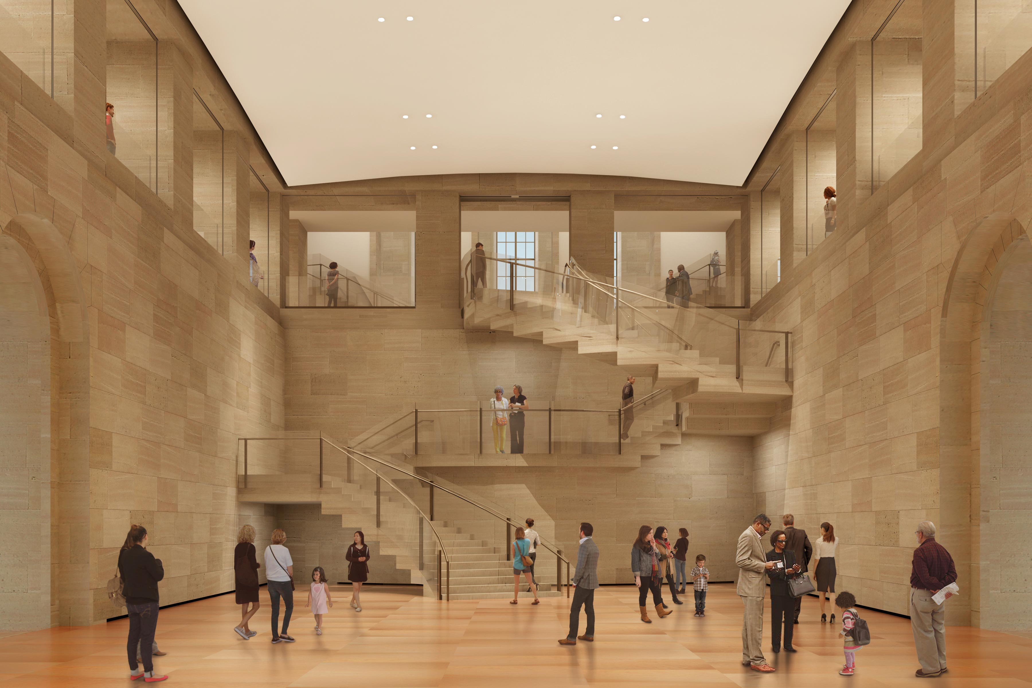 Philadelphia Museum of Art (Architectural rendering by Gehry Partners, LLP)