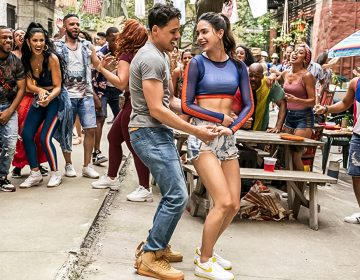 Melissa Barrera and Anthony Ramos in In the Heights