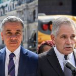 "Asked if his run for DA was a vendetta for being fired, Vega vigorously denied the idea. He had never before wanted to run for office, the former homicide prosecutor said, but the escalating murder rate in the city drove him into the political ring. ""I see the numbers of murders that have been happening since [Krasner] took office. Just this past year, 499 murders,"" Vega said. ""As a father, a single dad, a person of color — we suffer the most. I decided to run for office."" Krasner countered that the rise in gun violence is not related to his policy reforms. ""In 50 major U.S. cities last year the increase in gun violence was 42%. The increase in Philly is 40%, which is terrible, but what is happening is not unique to Philly,"" Krasner said. ""The FOP and their candidate — my opponent — are weaponizing a national tragedy."" Other issues got little air time, and there was little difference in the candidates' responses. Each tread similar ground when asked about the opioid crisis in the Kensington neighborhood, saying aggressive prosecution of those living with addiction should be a low priority, with the city instead offering social services and diversionary programs to avoid criminal proceedings and jail time. Krasner also said his office has been working with the FBI on wiretapping investigations to identify and arrest major dealers and those involved in drug trafficking, though he declined to elaborate."
