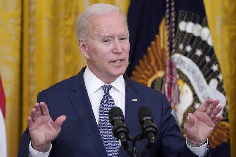 President Joe Biden speaks in the East Room of the White House, Thursday, June 17, 2021, in Washington. The Supreme Court has dismissed a third major challenge to