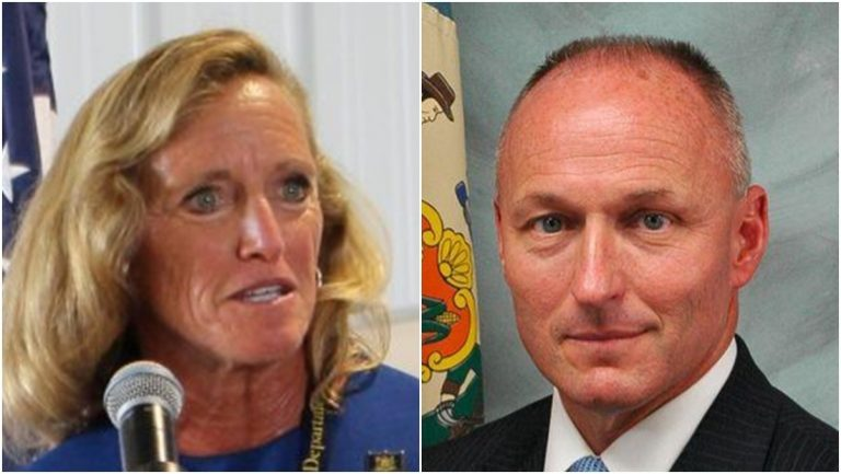 Claire DeMatteis is leaving her post as Delaware corrections commissioner. Monroe B. Hudson Jr. has been nominated to succeed her. (State of Delaware)