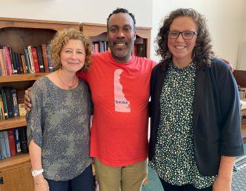 Wilmington Alliance's Laura Semmelroth, entrepreneur Derrick Allen, and Pastor Chelsea Spyres
