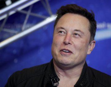 A closeup of Elon Musk