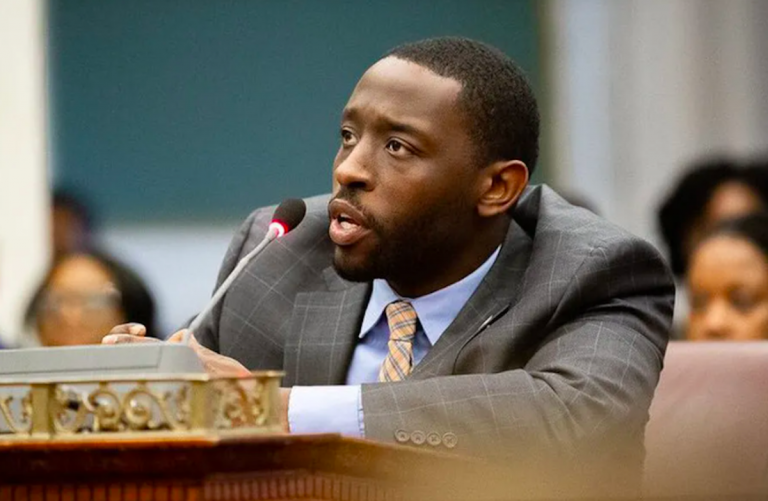 """City Councilman Isiah Thomas says the surrender clause for Universal Audenreid High School is """"another example of an added level of scrutiny for Philadelphia's Black institutions."""" City Council / Isiah Thomas"""