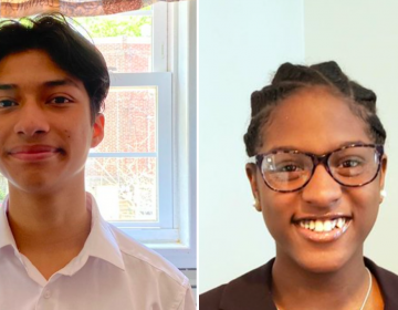 Armando Ortez, a rising senior at Northeast, and Rebecca Allen, a rising junior at Central, will begin serving as Student Board Reps for the 2021-22 school year. (Philadelphia Board of Education)