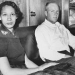This Jan. 26, 1965, file photo shows Mildred Loving and her husband Richard P Loving. Bernard S. Cohen, who successfully challenged a Virginia law banning interracial marriage. (AP)