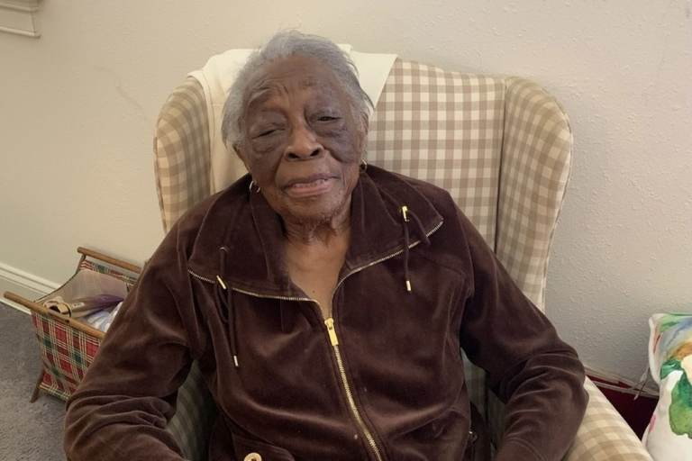 Bessie Cunningham, 99, was involved in the Berwyn School Strike in the 1930s. The strike is hailed as helping to lay the groundwork for Brown v. Board of Education. (Cunningham family)